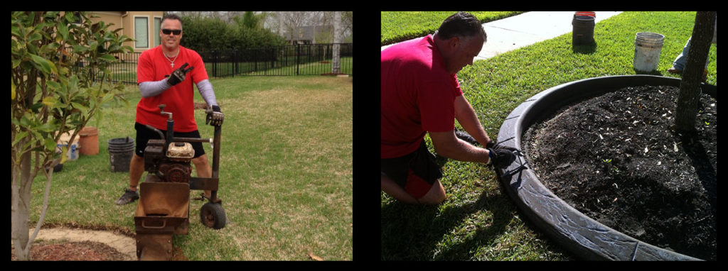 Owner Of Curbing Landscape Borders Concrete Stain Company